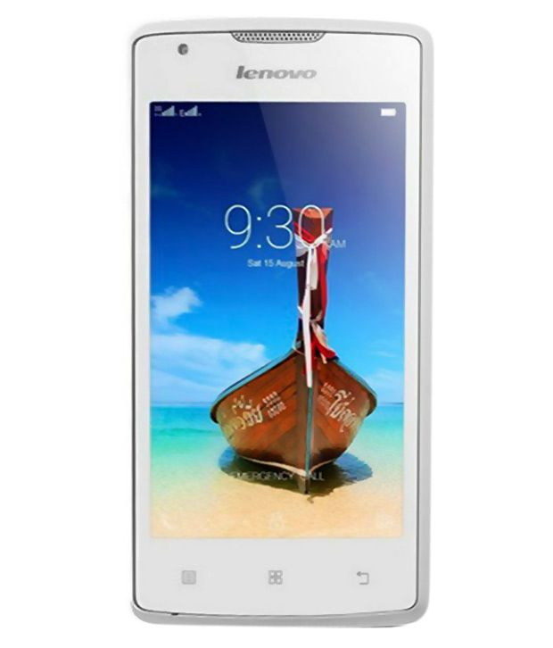 Lenovo ( 8GB , 1 GB ) White