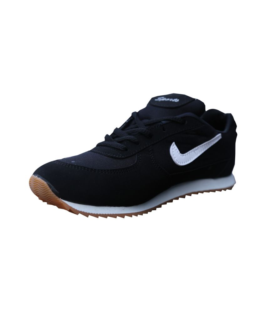 84e2dfacc0 ... Aadi Black Running Shoes, Walking Shoes, Cricket Shoes Sport For Men ...