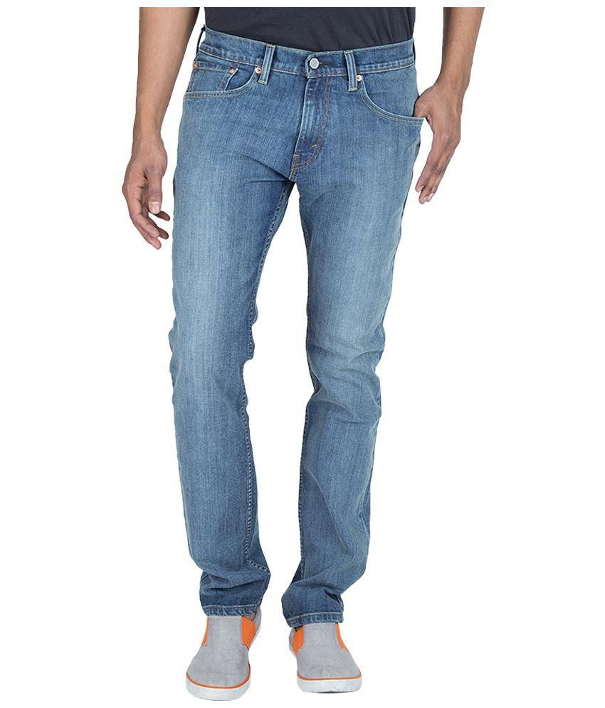 Levi's Blue Skinny Fit Jeans