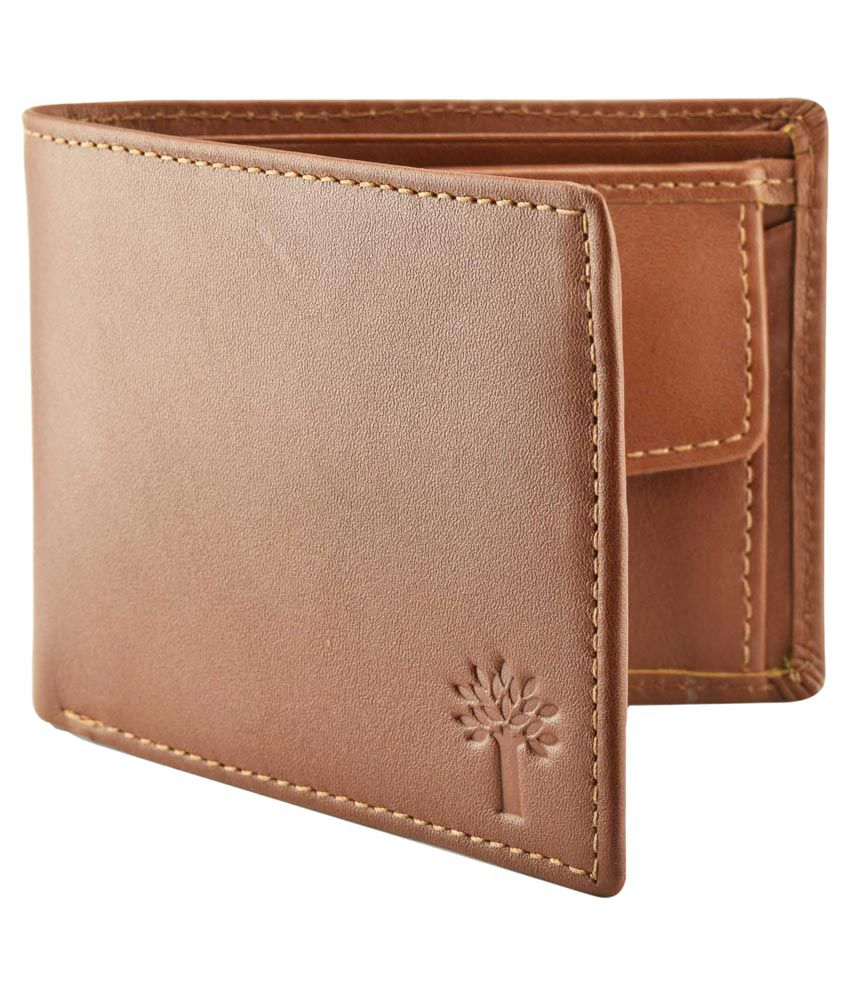 Woodland Brown Formal Wallet For Men: Buy Online at Low ...