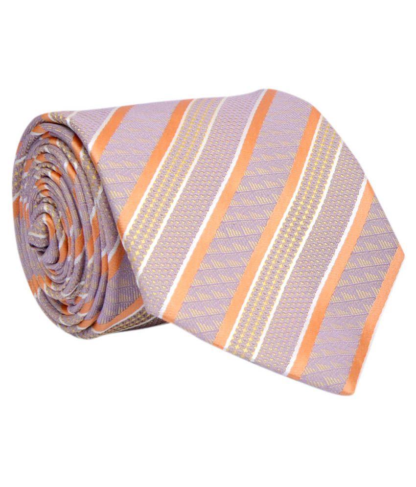 Calvadoss Multicolor Micro Fiber Necktie