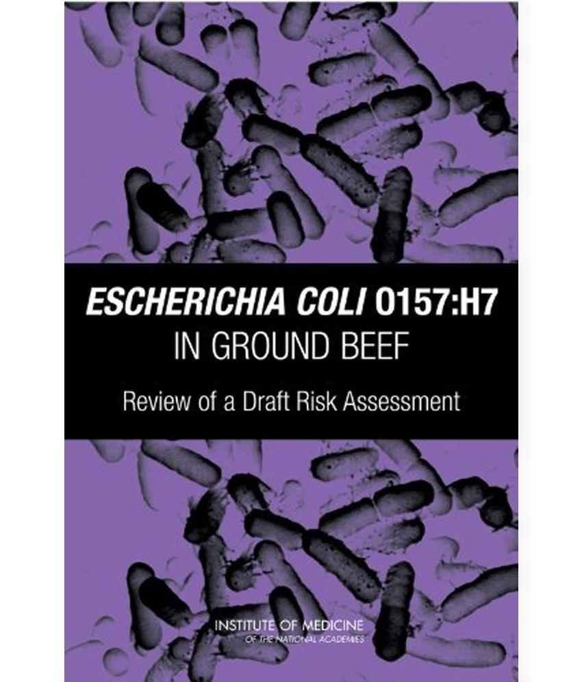 quantitative risk assessment for escherichia coli o157h7 in ground beef hamburgers essay The concentration and prevalence of escherichia coli o157 in cattle feces at quantitative risk assessment for escherichia coli o157:h7 in ground beef hamburgers.