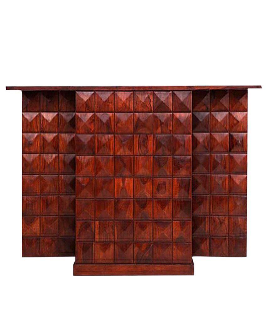 Ethnic India Art Solid Wood Bar Cabinet - Buy Ethnic India Art ...