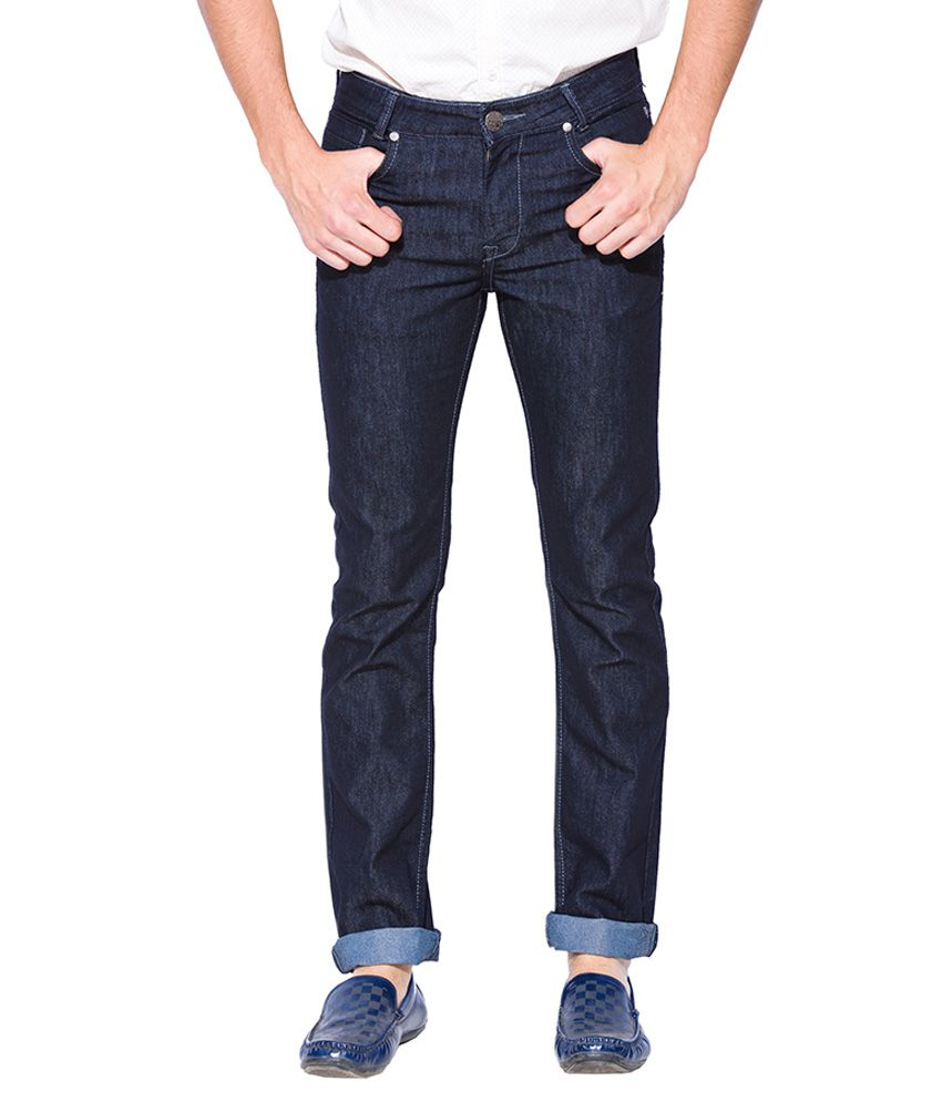 Mufti Black Slim Fit Jeans