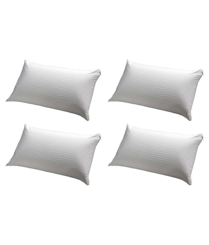 Jdx White Pillow Pack Of 4