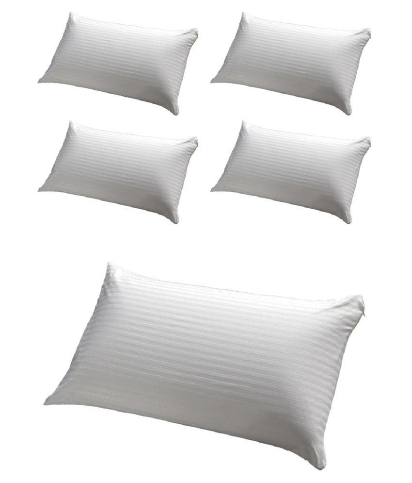 Jdx White Pillow Pack Of 5