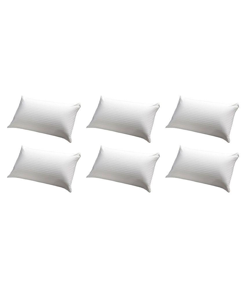 Jdx White Pillow Pack Of 6