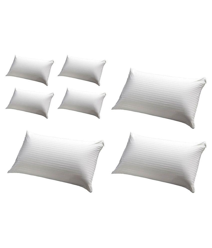 Jdx White Pillow Pack Of 7