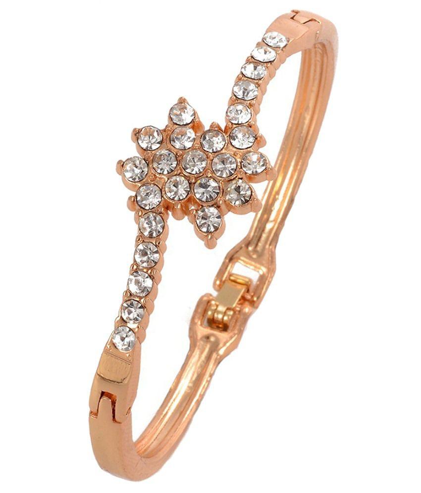 Waah Waah Golden Alloy Bracelet