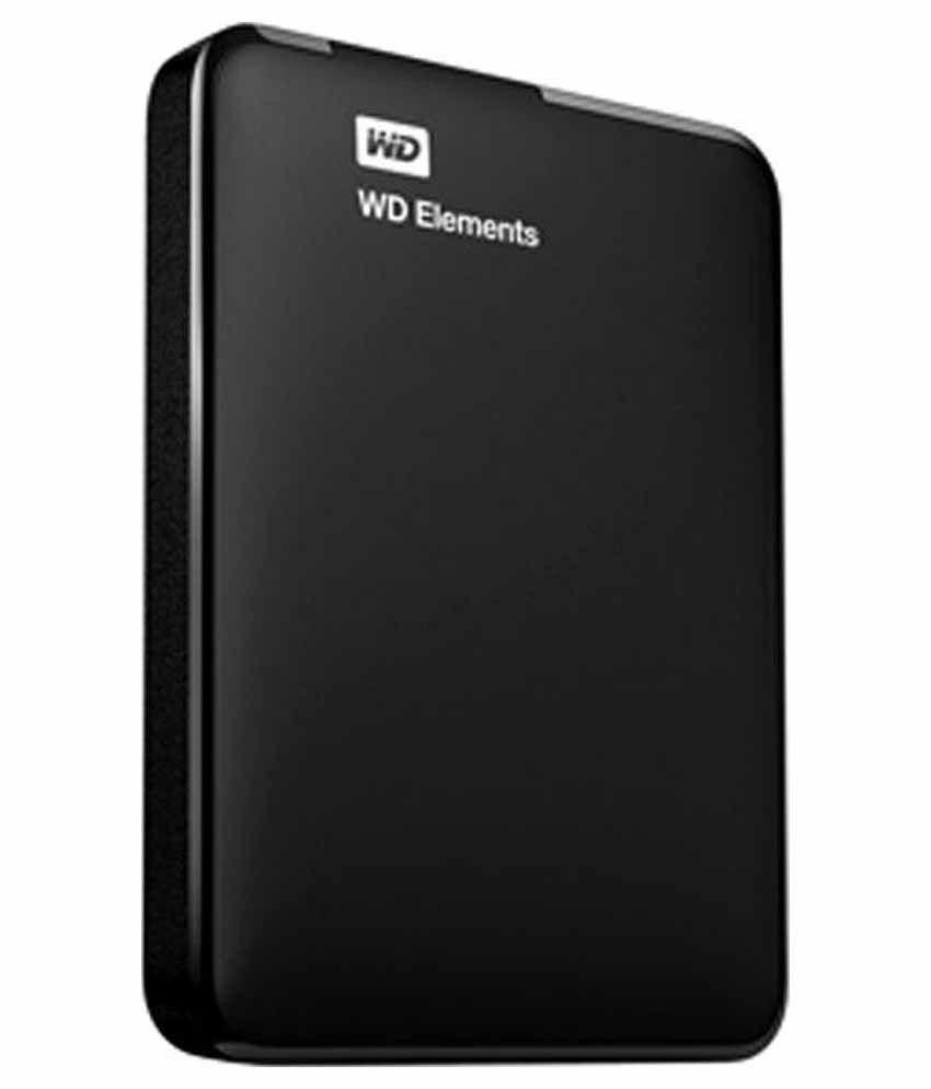 WD 2 TB External Hard Disk Black