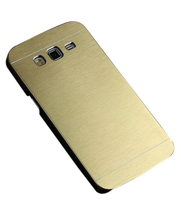 competitive price f74fd 2aa9c Unique Design Hard Shell Plain Back Cover Case For Samsung Galaxy Grand  Prime 4g - Golden