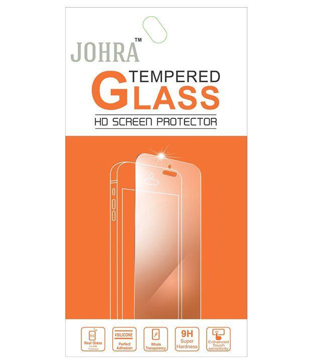 Johra Tempered Glass Screen Guard For Coolpad Dazen X7
