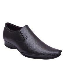Elixir Man Black Formal Shoes