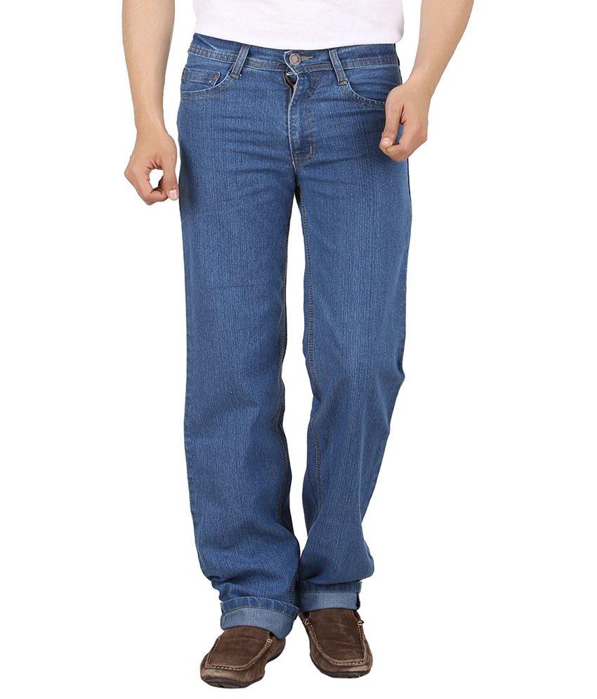 Maks Blue Comfort Fit Jeans