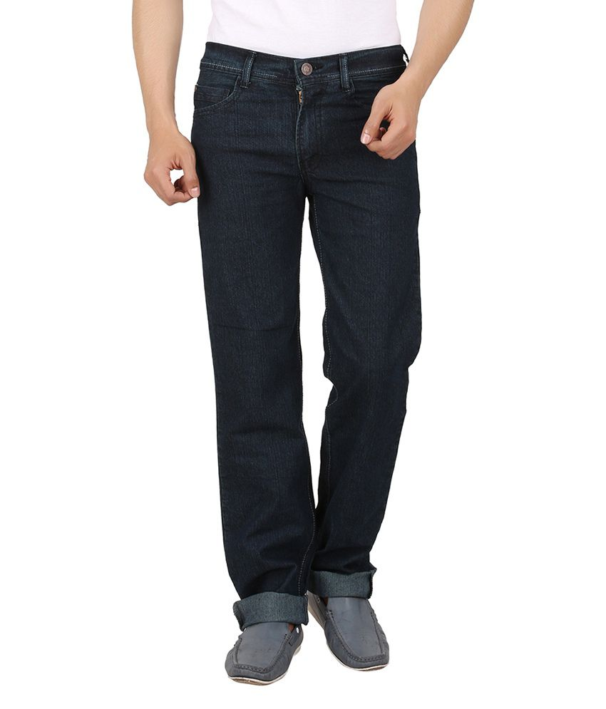 Maks Dark Green Comfort Fit Jeans