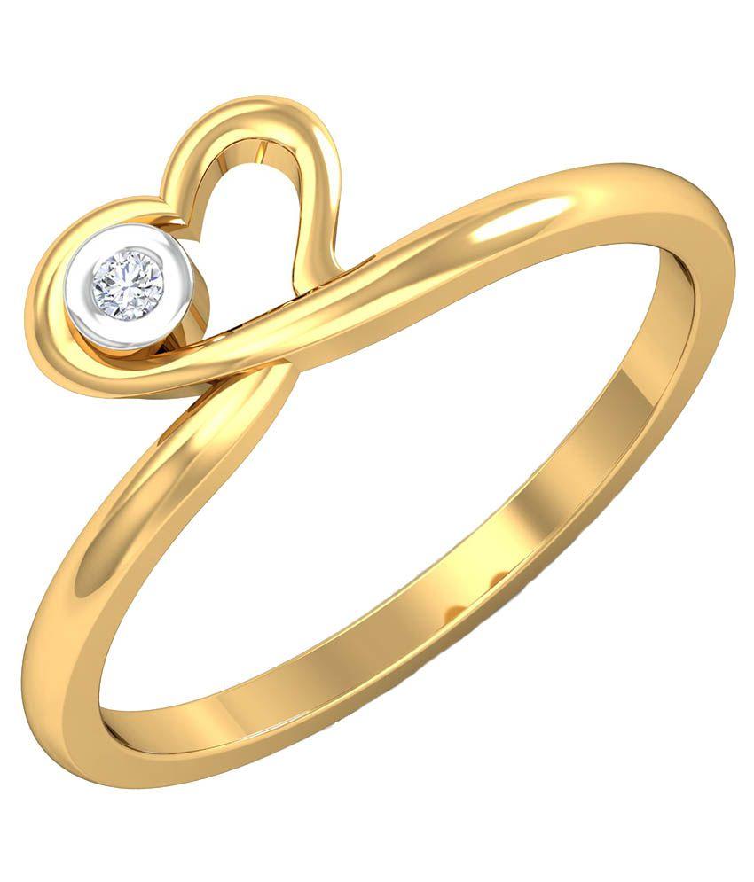 P.n.gadgil Jewellers 18kt Gold Ring