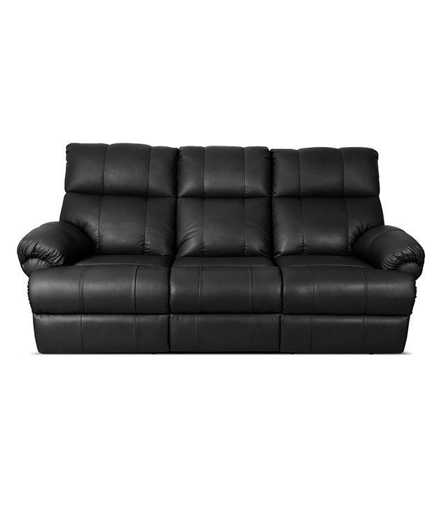Little Nap Casa Leatherette 3 Seater Recliner