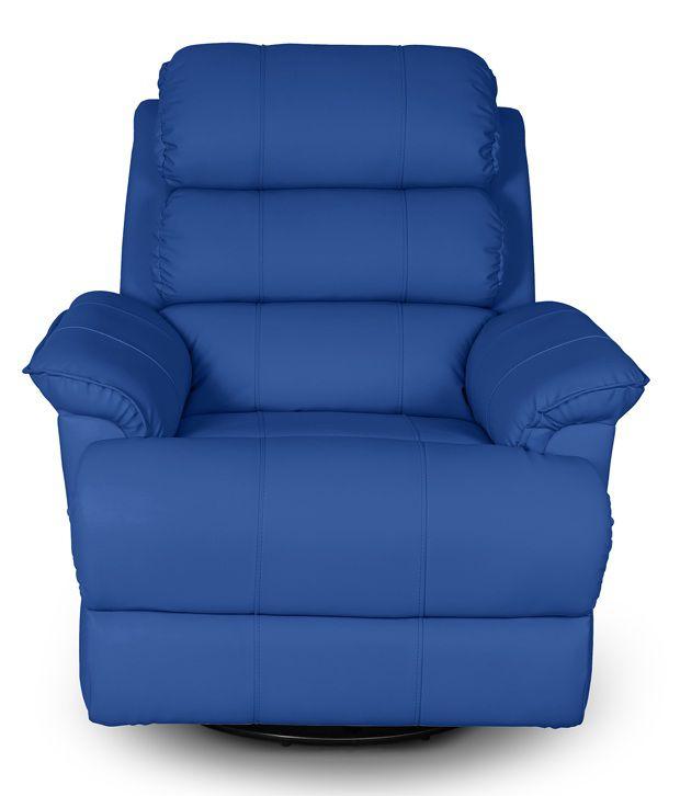 Little Nap Quies Leatherette 1 Seater Recliner