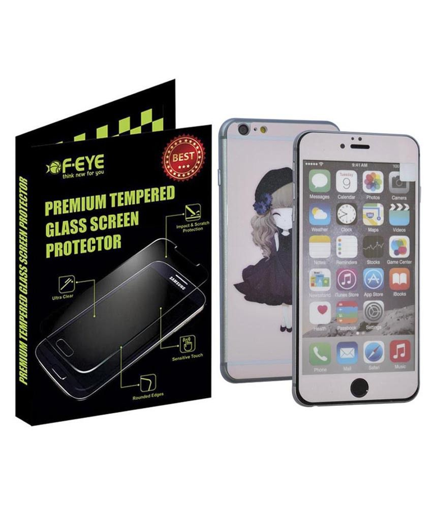 Apple Iphone 6S Plus Tempered Glass Screen Guard by F-EYE