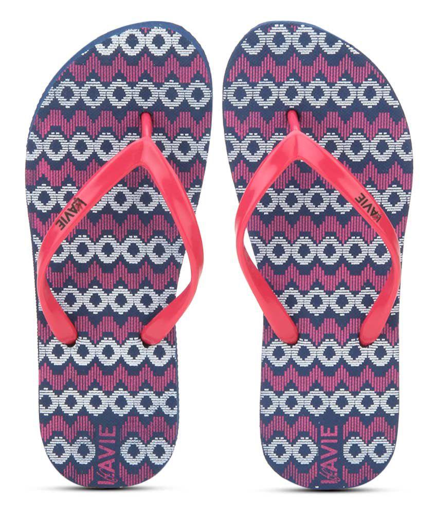 Lavie Navy Flip Flops