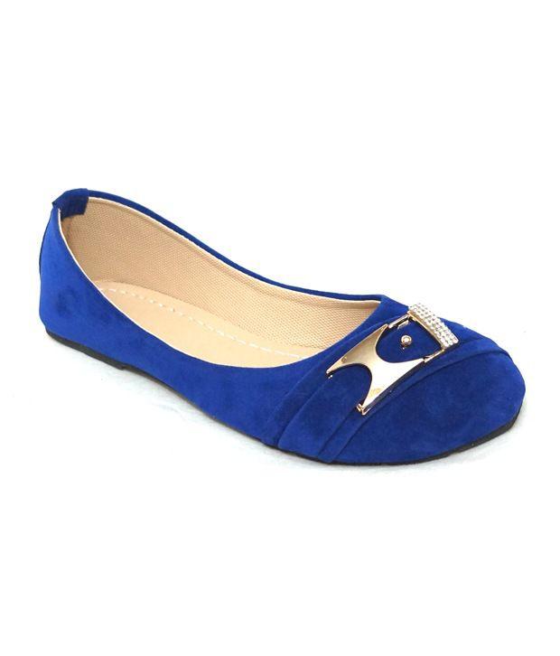 Royal Indian Exposures Blue Ballerinas