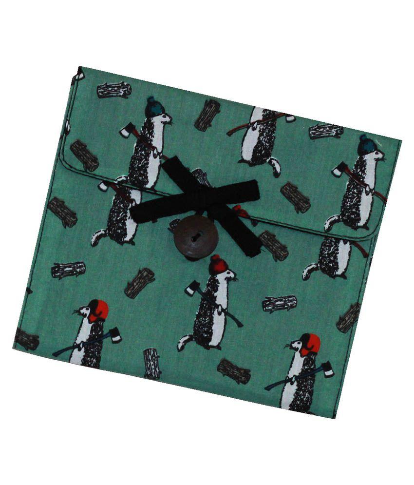 Yoge Bags Green Beaver Sanitary Napkin Pouch