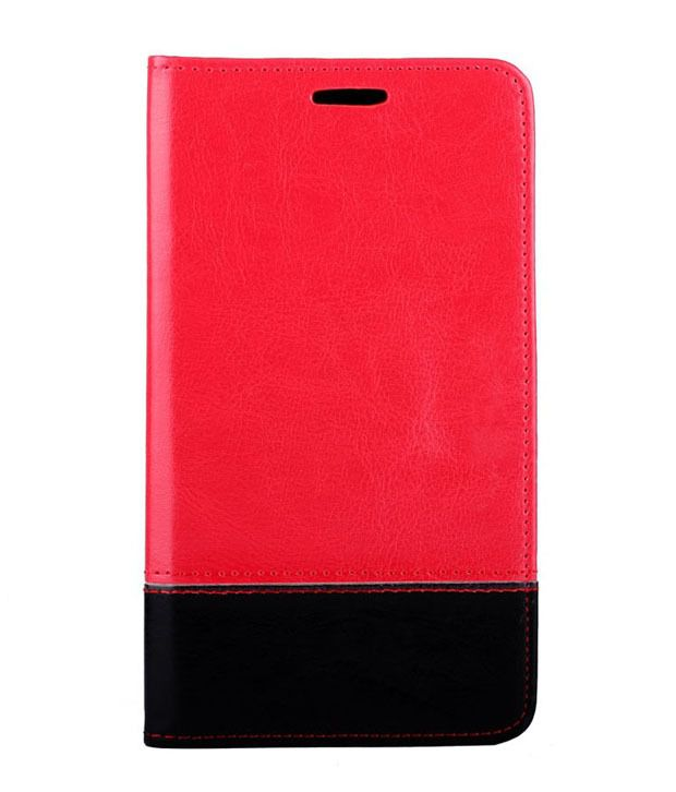 2010kharido Flip Cover For Apple Iphone 6 4.7 Red   Red