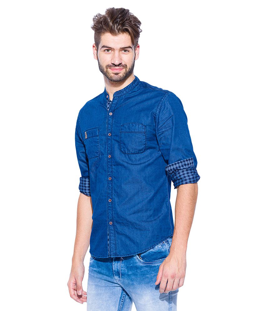 0fe97360dfd Buy Mufti T-shirts   Polos - Upto 70% Off Online - TATA CLiQ