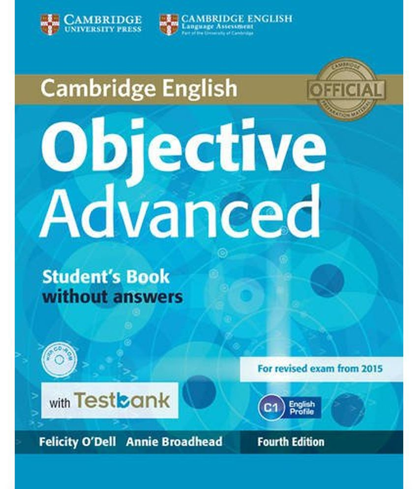 Complete Advanced Students Book with Answers with CD-ROM with Testbank
