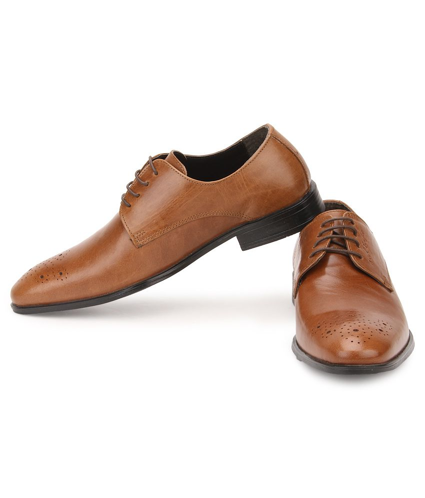 Red Tape Tan Formal Shoes Price in India- Buy Red Tape Tan Formal ...