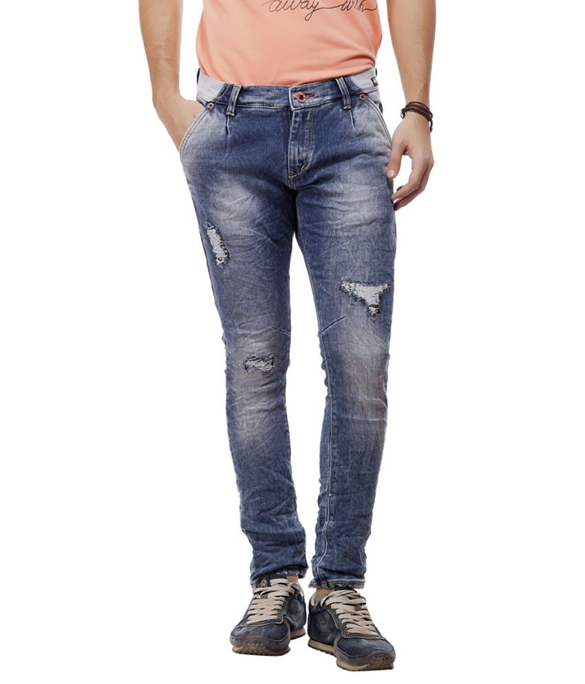 Jimmy And Jordan Blue Slim Fit Jeans