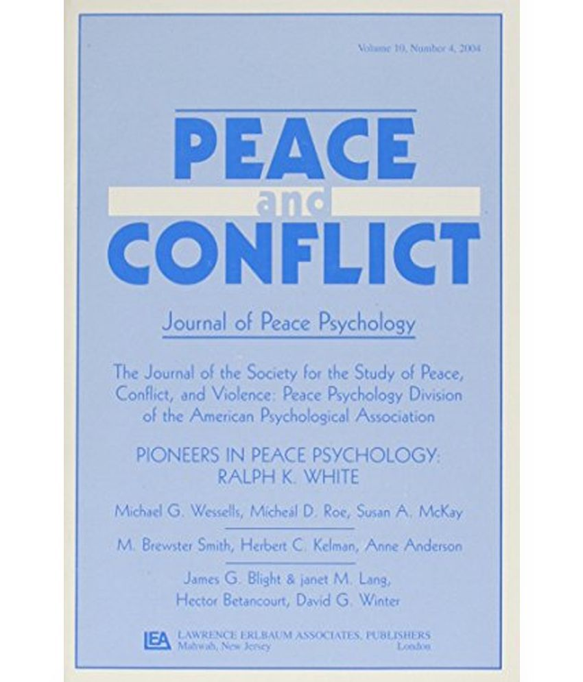 peace psychology Peace, conflict, and violence brings together the key concepts, themes, theories, and practices that are defining peace psychology as we begin the 21st century this comprehensive book is rooted in psychology, but includes a wide range of interpersonal, community, national and international contexts, multiple levels of analysis from micro to macro, and multi-disciplinary perspectives.