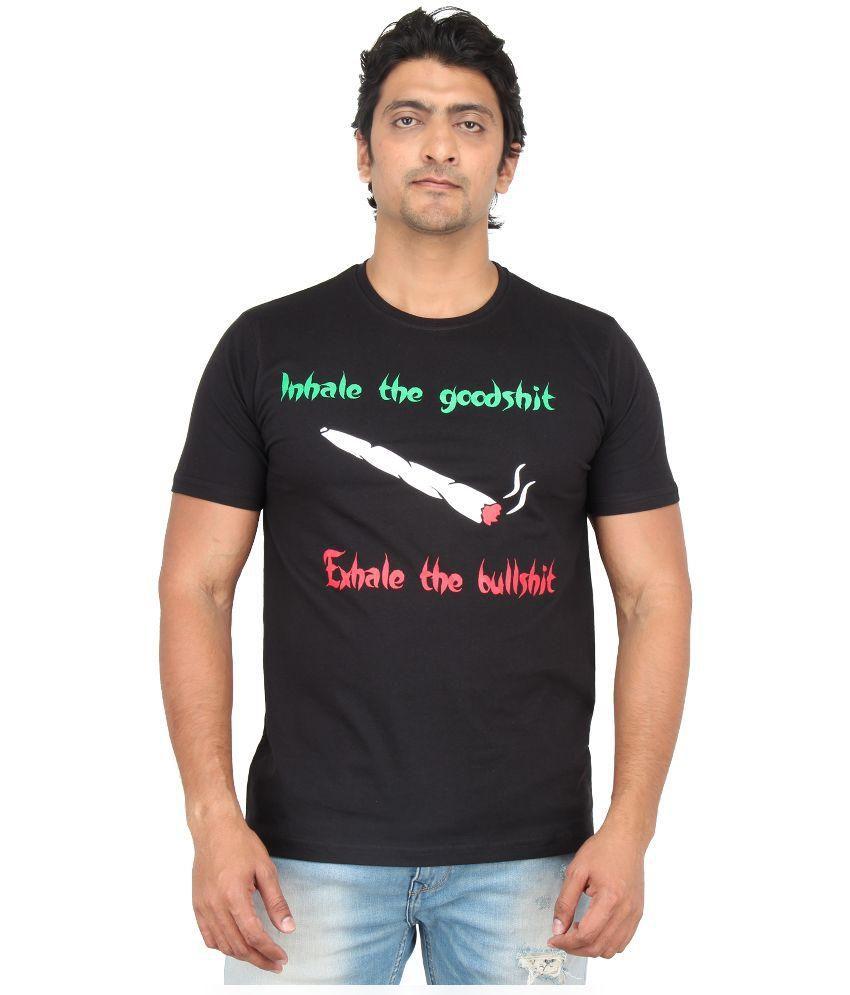 Mighty Mojo Black Cotton T-Shirt