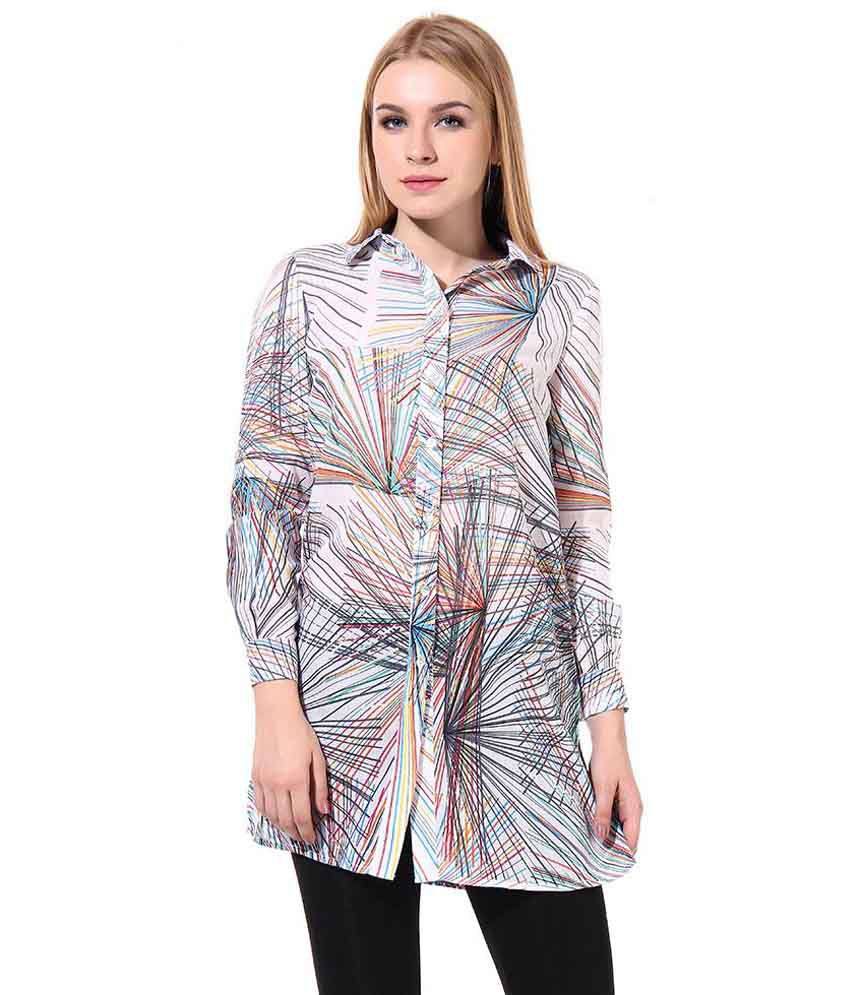 Oxolloxo Multi Color Polyester Shirts