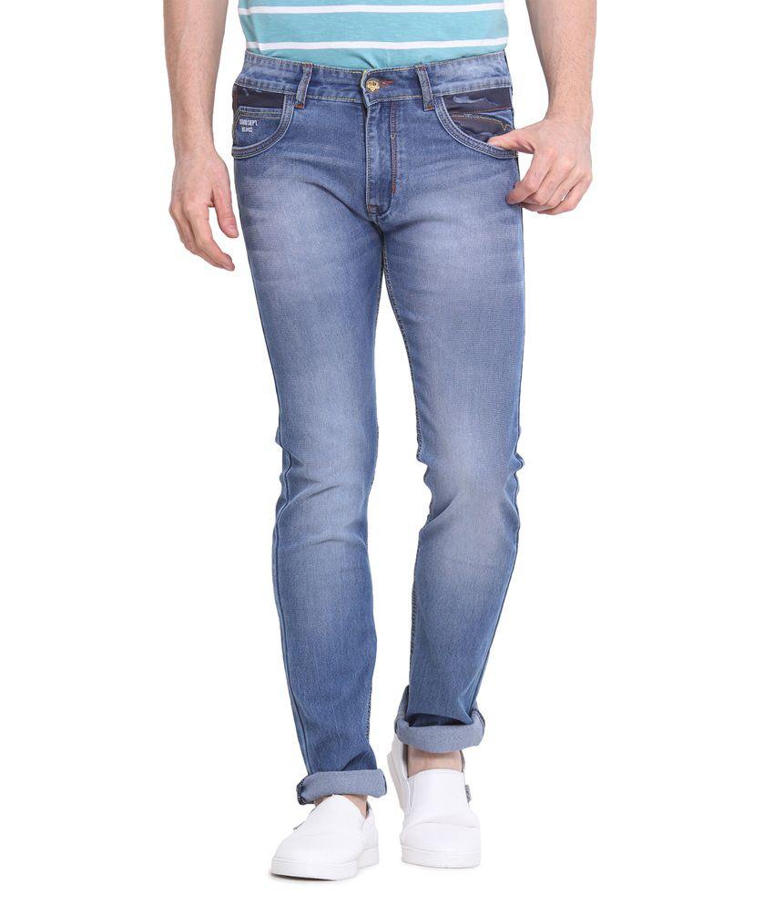 Virtue Blue Slim Fit Jeans