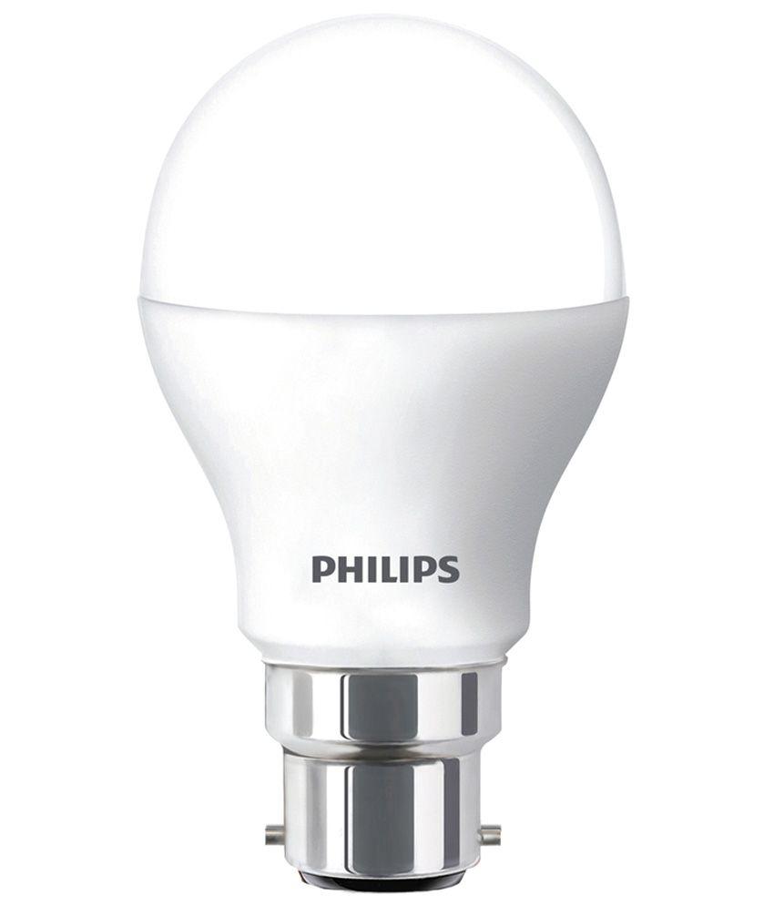 Philips 7w White Led Bulb Image