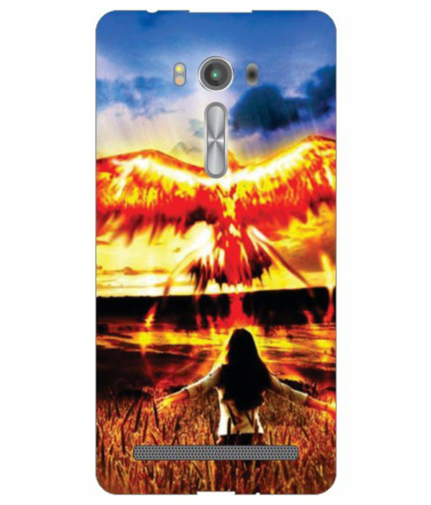 Printland Back Cover For Asus Zenfone 2 Laser - Multicolour