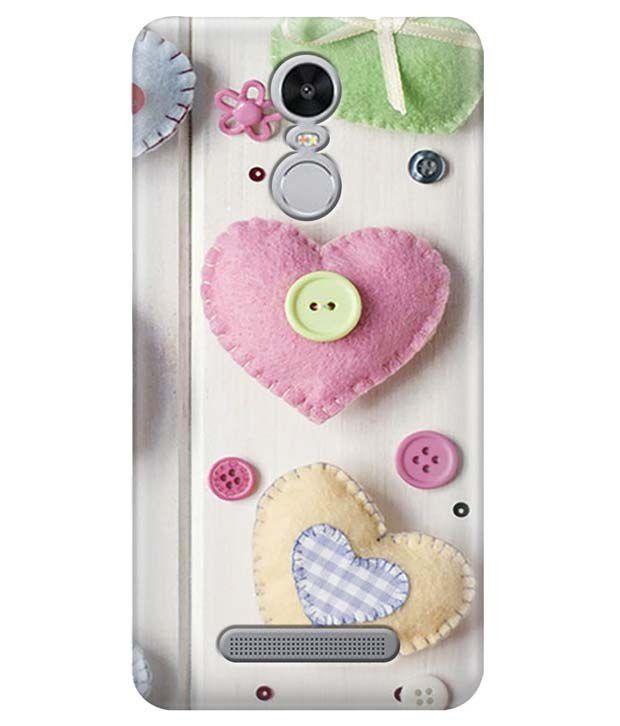 sports shoes 18c64 73b59 Zapcase Printed Back Cover For Xiaomi Redmi Note 3 - Multicolour