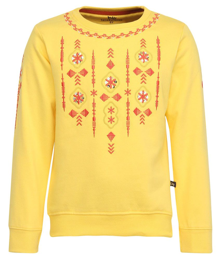 Bells & Whistles Yellow Sweatshirt