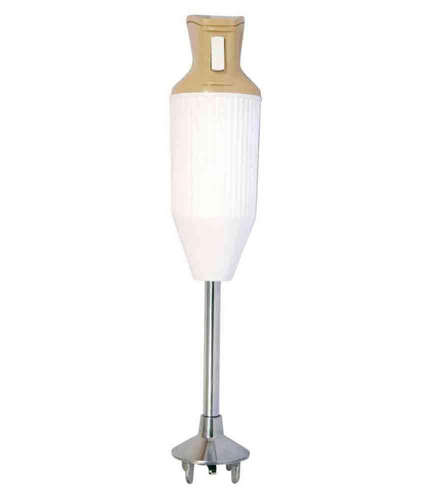 Orpat 250 Watt HHB 107E Hand Blender White Beige