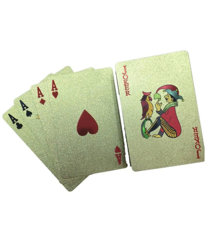 Rathi Emporio Gold Plated Playing Cards