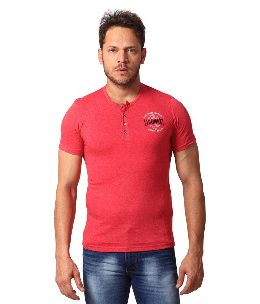 Yoo Pink Cotton Blend T-shirt