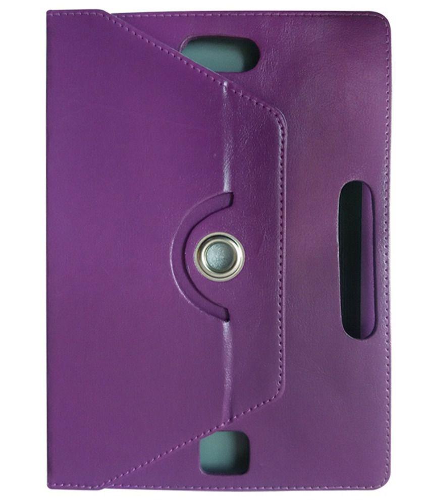 Fastway Flip Cover For Byond Mi-book Mi9-purple