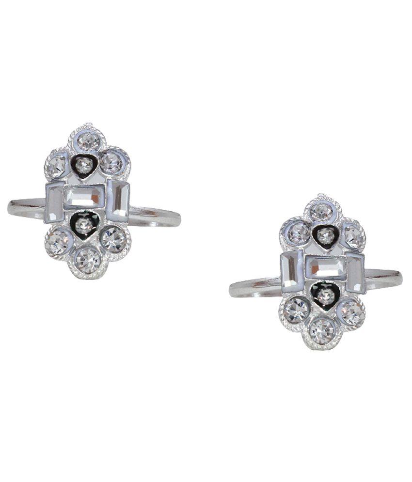 Paramsai Silver German Silver Toe-ring
