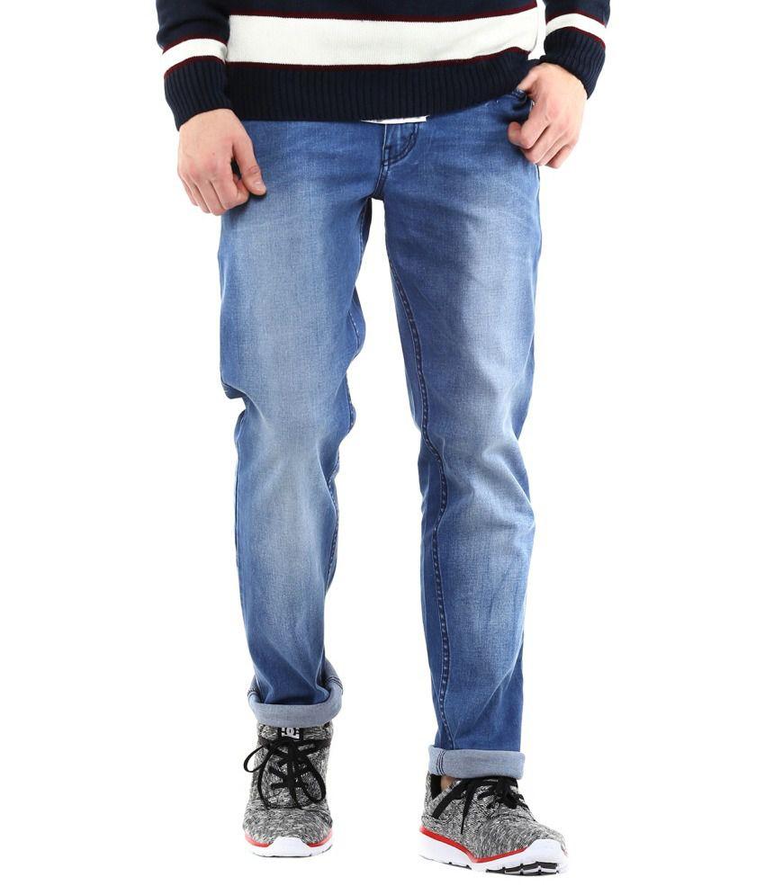 Cobb Blue Slim Fit Jeans