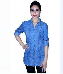 Cherry Clothing Denim Shirt