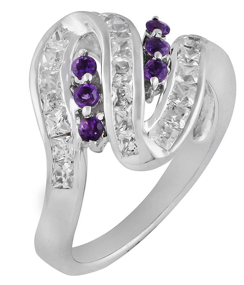 Allure Jewellery 92.5 Sterling Silver Ring