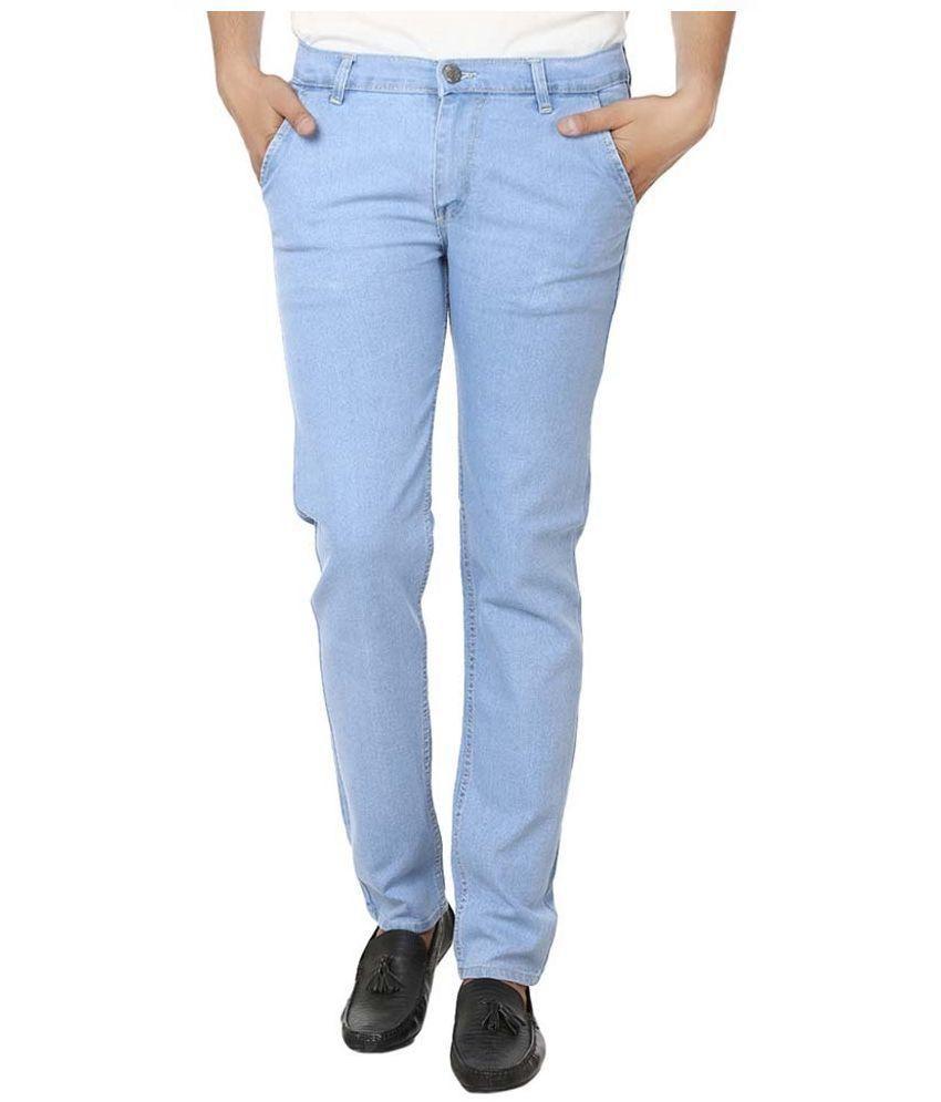 My Wardrobe Blue Regular Fit Jeans