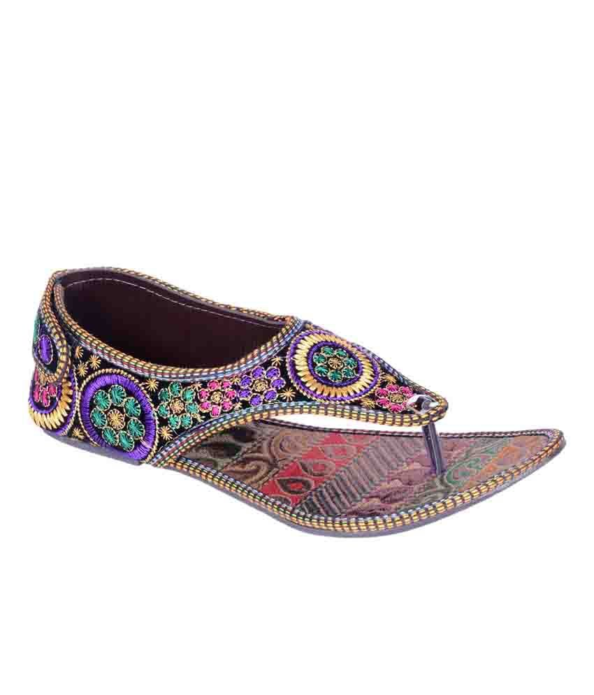 Veer Crafts Multicolour Sandals
