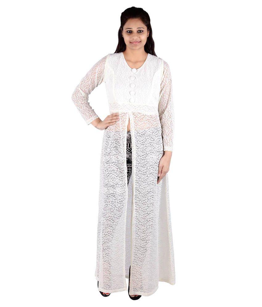 Fora Fashion White Lace Tunics